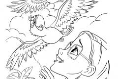 rio-linda-guacamayos-dibujalia